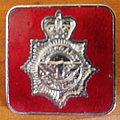 Saxon pin - red version Pin / Badge