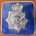 Saxon pin - blue version Pin / Badge