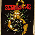Scorpions back patch