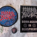 "Morbid Angel - Patch - Morbid Angel ""Born Again In Blasphemy"" tour pack"