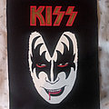 Gene Simmons / Kiss - Patch - Gene Simmons maxipatch