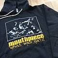 "Mouthpiece ""what was said"" hooded  Hooded Top"