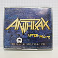 Anthrax Aftershock The Island Years 1985-1990 Signed Cd