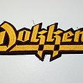 Dokken Large patch ( rare )