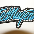 Ted Nugent  Blue patch