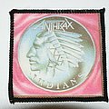 Anthrax Indians patch