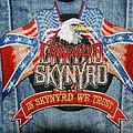 LYNYRD SKYNYRD - Patch - Lynyrd Skynyrd In Skynyrd we trust patch
