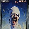 Scorpions - Patch - Scorpions Blackout Backpatch ( Rare )