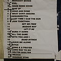 The Dead Daisies Setlist Other Collectable