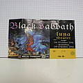 Black Sabbath Concert Ticket Other Collectable