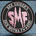 Twisted Sister - Patch - Dee Snider's SMF Sick. mutha f**kers patch