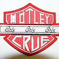 Mötley Crüe girls girls girls patch ( rare )