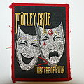 Mötley Crüe Theatre of pain patch ( rare )