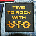 UFO - Patch - Ufo Time to rock with Ufo official patch ( Very rare )