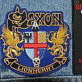 Saxon Lionheart patch