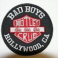 Mötley Crüe Bad Boys Hollywood CA Girls Girls Girls patch
