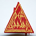 Def Leppard  Red triangle patch