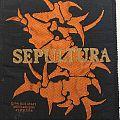 Sepultura - bones-S logo patch