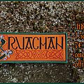 Cruachan - Patch - Cruachan official woven patch by Iron and Ash