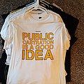 SWANS Public Castration is a Good Idea shirt