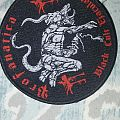 Profanatica-Black cult ejaculate patch