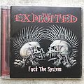 The Exploited - Tape / Vinyl / CD / Recording etc - The Exploited - Fuck The System cd