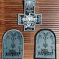Hellhammer woven patches