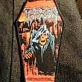Therion Woven Coffin Shaped Patch