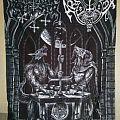 Satanic Warmaster / Archgoat split LP & flag