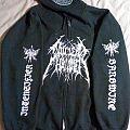 Nuclearhammer zippered hoodie