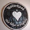 Motorhead SNAKE SKIN leather patch