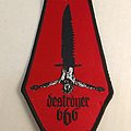 Destroyer 666 woven patch