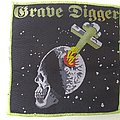 Grave Digger Woven Patch