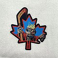 Iron Maiden - Patch - Iron Maiden - Canadian Eddie Fan-Made Woven Patch