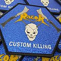 Razor - Patch - Razor - Custom Killing Official Woven Patch