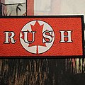 Rush - Patch - Rush - Canadian Flag Woven Patch