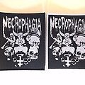 Necrophagia - Manson Official Woven Patch