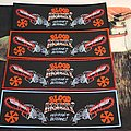 Blood Money - Patch - Blood Money - RRnB Official Woven Strip Patch