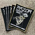 Razor - Patch - Official Executioner's Song Woven Back Patch