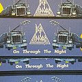 Def Leppard - On Through The Night Woven Strip Patch