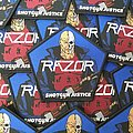 Razor - Patch - Razor - Shotgun Justice Official Woven Patch
