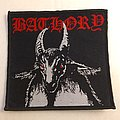 Bathory woven patch