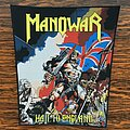 Manowar - Patch - Manowar - Hail To England Woven Back Patch
