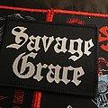 Savage Grace - Patch - Savage Grace Woven Logo Patch