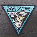 Official RAZOR - Executioner's Song Woven Patches