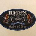 Blasphemy - Gods of War Woven Patch