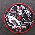 Official RAZOR Woven Patches