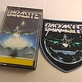 Parasite woven patch and Banzai cassette tape