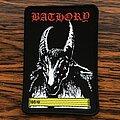 Bathory - Patch - Bathory Banzai Cassette Woven Patch
