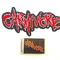 Carnivore Embroidered Back Patch